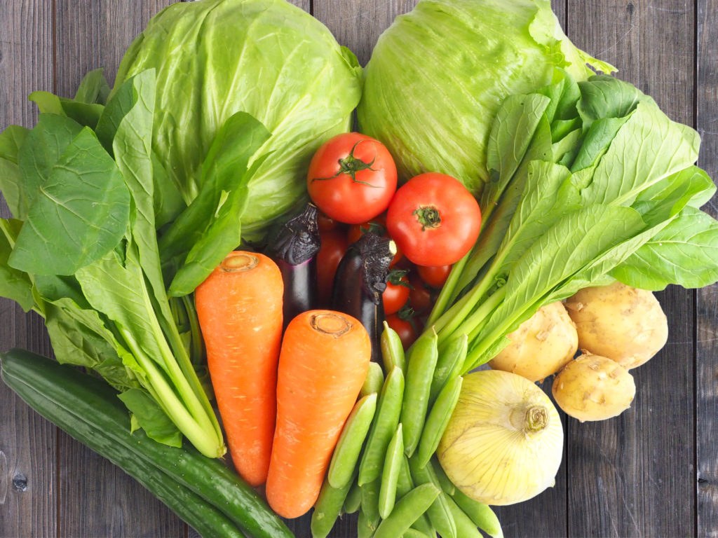 ゴックン期 野菜