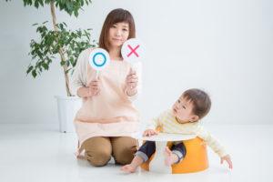 ○×ママと赤ちゃん