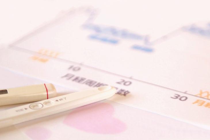 妊娠初期 検査薬 体温計